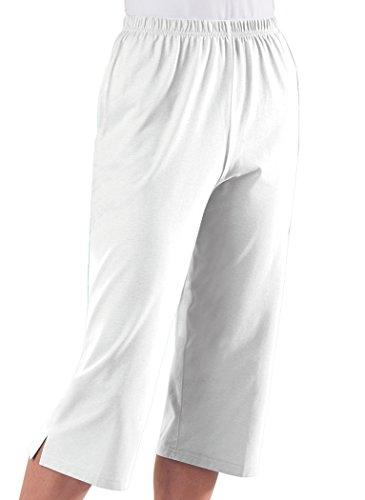 Knit Capris - AmeriMark Knit Capris White