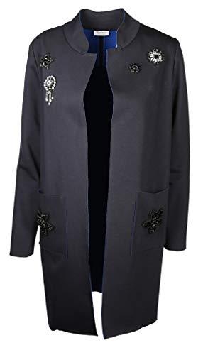 Rich amp; Para Azul Abrigo Mujer Royal 8xag8A0q
