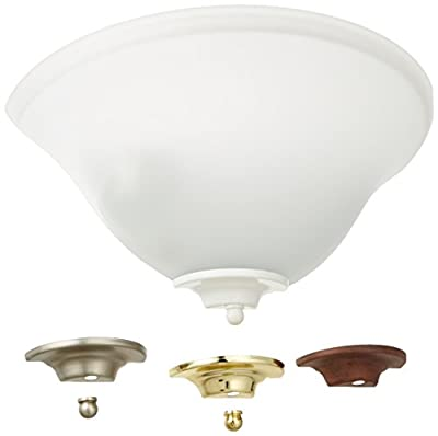 Designers Fountain 6020-AST Value Collection Wall Sconces with White Accent Caps, Pewter/Distressed Bronze/Polished Brass