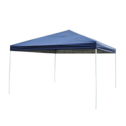 (Outsunny 13' x 13' Adjustable Height Easy Pop Up Canopy Party Tent - Dark)