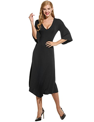 long black handkerchief dress - 3