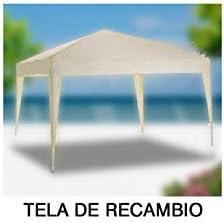 PAPILLON 8043621 Tela Recambio para Pergola Plegable, Blanco ...