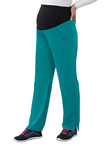 Classic Fit Collection by Jockey Women's Maternity Ultimate Elastic Waistband Scrub Pant X-Large ()