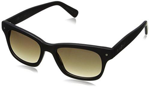 7 For All Mankind Men's 7907 Wayfarer Sunglasses, Matte Black, 51 - Sunglasses For Mankind All