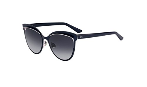 Dior Inspired - JB3Y1 Titanium Blue Cat Eye Sunglasses 54mm