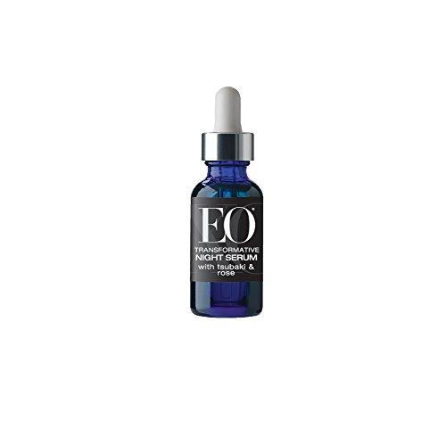 EO Ageless Skin Care Transformative Night Serum with Tsubaki and Rose, 1 Ounce