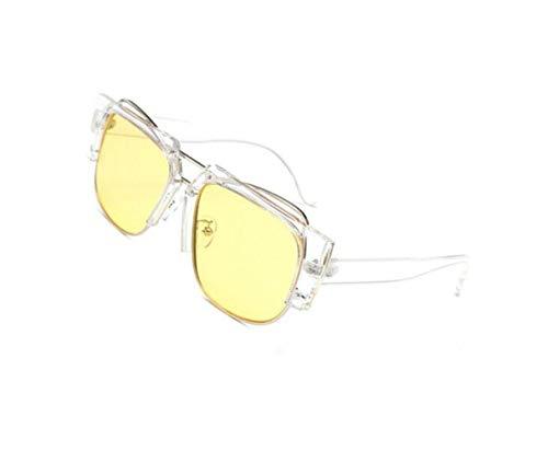 hommes lunettes lunettes Frame la des plein air voyager de pêche Yellow Unisexe Pour de pour de lunettes soleil pour protection Big conduire soleil en UV400 zw5x71AqI1