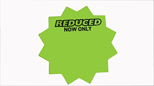 "4"" Round Starburst Cards-with REDUCED-Now Only (100)"