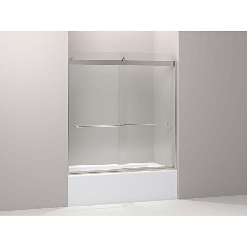 Kohler K-706103-L-NX Levity Rear Sliding Glass Panel and Assembly Kit for Shower ()