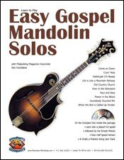 Easy Gospel Mandolin Solos Vol. 1 (CD + Booklet)