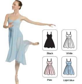 SANSHA l1804ch Mabel vestito di danza donna, donna, L1804CH Mabel, nero, XL SAP86|#Sansha