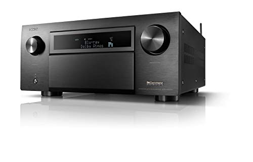 Denon AVR-X8500H Flagship Receiver-8 HDMI In /3 Out, Powerfu