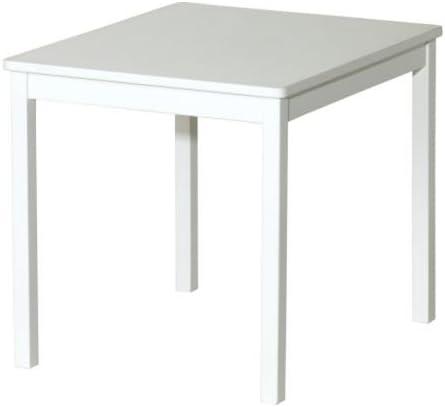 Ikea KRITTER - Mesa de Infancia-s, Blanco - 59x50 cm: Amazon.es: Hogar
