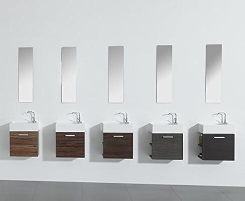 Gäste-WC Badmöbel Waschbecken mit Unterschrank und Ablagefächer ... | {Waschbecken mit unterschrank gäste wc 3}