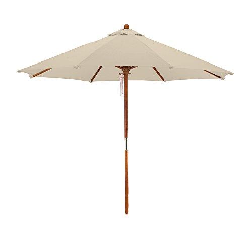 California Umbrella Hardwood Polyester Antique