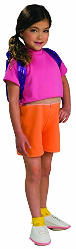 Nick Jr. Dora the Explorer Child's Dora Costume with Backpack, Small (Dora The Explorer Costumes)