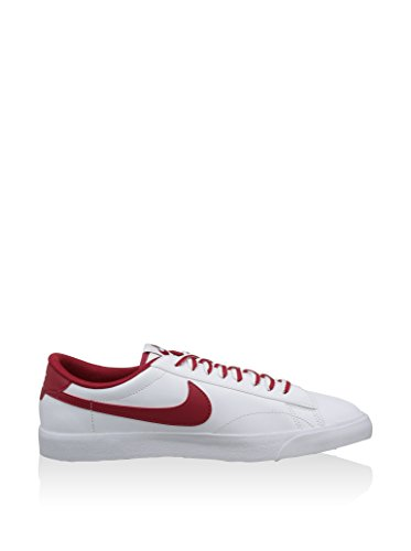 Nike Herren Tennis Classic AC ND Low-Top Weiß (White/Gym Red-Gum Med Brown)
