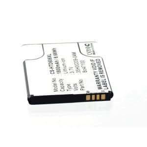 Batería para HTC 35h00209–25m de ion de litio 3,7V 1800mAh