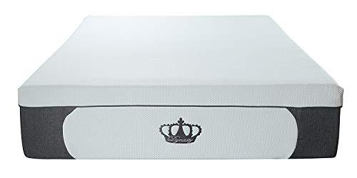 DynastyMattress New! 14.5-Inch CoolBreeze Plush Gel Memory Foam Mattress w/Free Pillows (King)