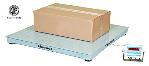 Salter Brecknell Heavy Duty Floor Scale/ Platform Scale 4'x4' NTEP, Legal For Trade 10000LB with SBI 505 Indicator, NTEP