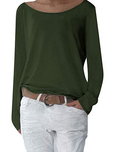 Camisas Yidarton green Para Mujer A q4wATF