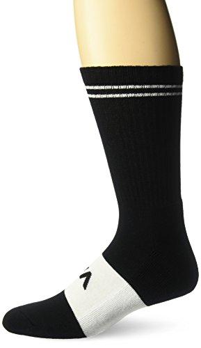 RVCA Men's Basic Block Sock, black EA