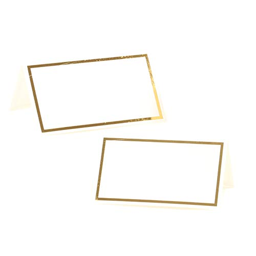 Andaz Press Placecard Gold Foil Table Tent Card