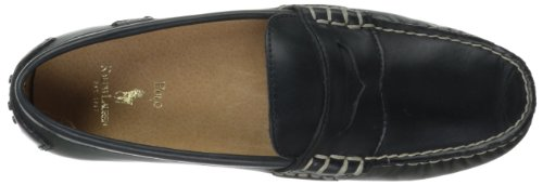 Polo Ralph Lauren Mens Wes Penny Loafer Liscia Nera