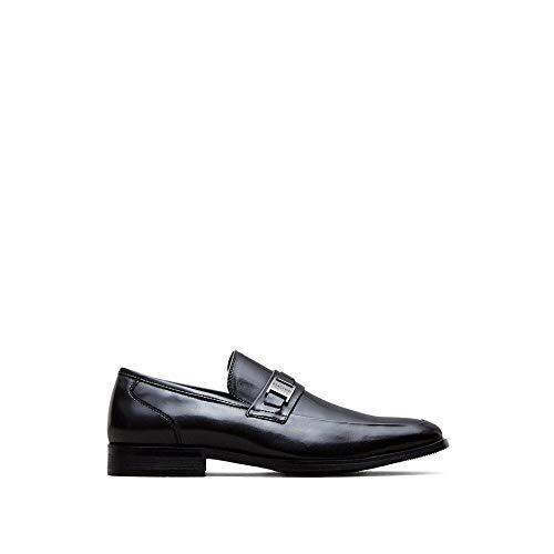 Detail Loafers - Kenneth Cole REACTION Near D Mark Bit Detail Loafer Black