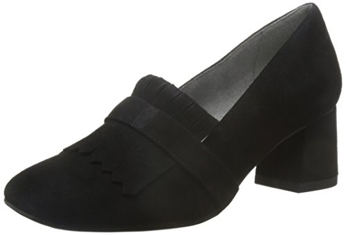 Tamaris Schuhe 1-1-24403-28 bequeme Damen Slipper, Slip On, Halbschuhe, Sommerschuhe für modebewusste Frau, Black