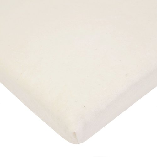 American Baby Company Fitted Velour Bassinet Sheet made with Organic (Organic Velour Pocket Fitted Diaper)