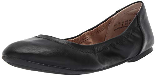 - Amazon Essentials Women's Ballet Flat, Black, 10 B US