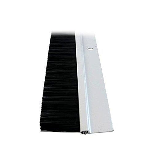 4' Aluminum Long Bristle Door Sweep