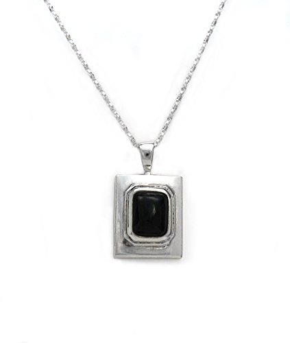Sterling Silver Stone Inlay