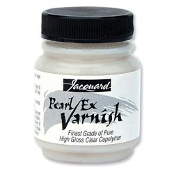 Bulk Buy: Jacquard Products (3-Pack) Pearl Ex Varnish 2.25oz JAC1649 2.25 Ounce Pearl