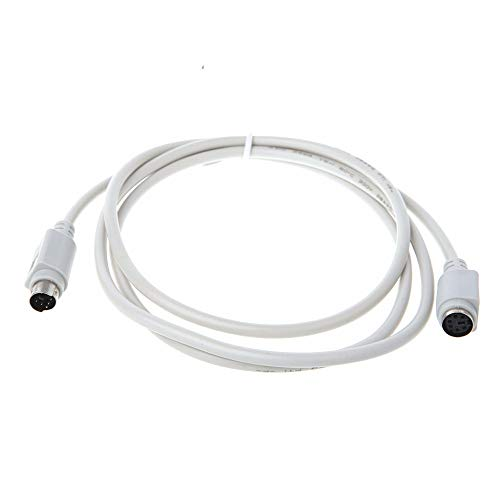 (Computer Cables Open-Smart 1.5/3/5M PS/2 Keyboard Mouse Male to Female Extension Cable Lead 6 Pin Motherboard Mouse - (Cable Length: 1.5m))