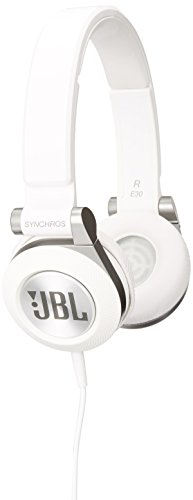 050036321891 - JBL E30 White High-Performance On-Ear Headphones with JBL Pure Bass and DJ-Pivot Ear Cup, White carousel main 2