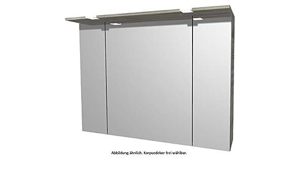 Pelipal 6025 Armario con Espejo con LED Corona/SPS02/Comfort N/B: 95 cm: Amazon.es: Hogar