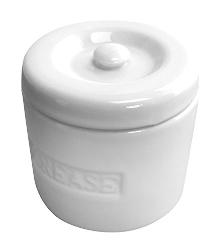 grease container with strainer - 4