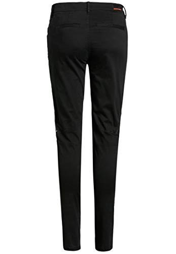 Pantalón Mujer Para Khujo Negro Liso BqRq6a