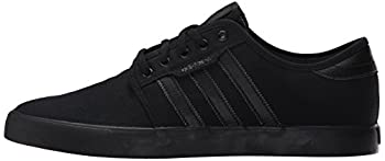 Adidas Men's Seeley Skate Shoe,blackblackblack,9 M Us 4