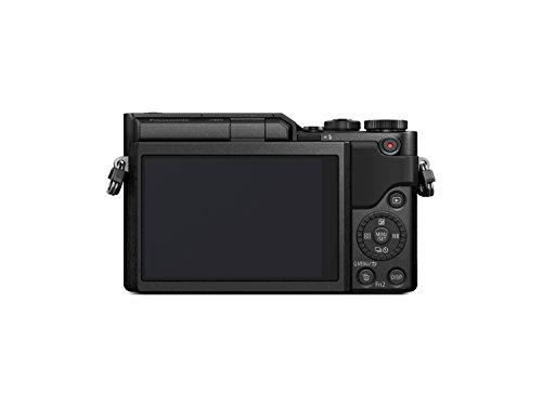 PANASONIC LUMIX GX850 4K Mirrorless Camera with 12-32mm MEGA O.I.S. Lens, 16 Megapixels, 3 Inch Touch LCD, DC-GX850KK (USA BLACK)