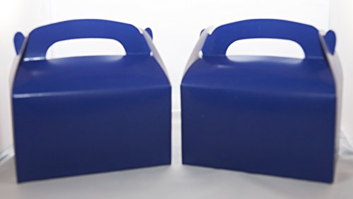 DOMAGRON Solid Blue Treat Box