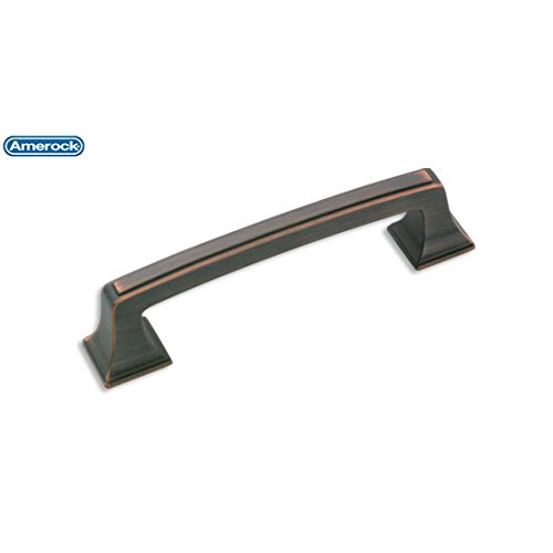 Mulholland Amerock Pull - Amerock Mulholland 3-3/4 in. (96mm) Drawer Pull Oil-Rubbed Bronze - BP53031ORB