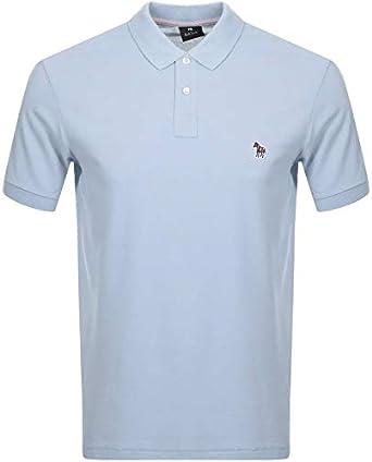 Paul Smith - Polo con Logo de Cebra, Color Azul Claro Azul Azul XL ...