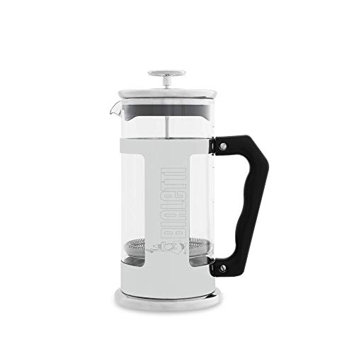 Bialetti Sugar - Bialetti 06700 3-Cup French Press Coffee Maker, Premium Stainless Steel, Silver