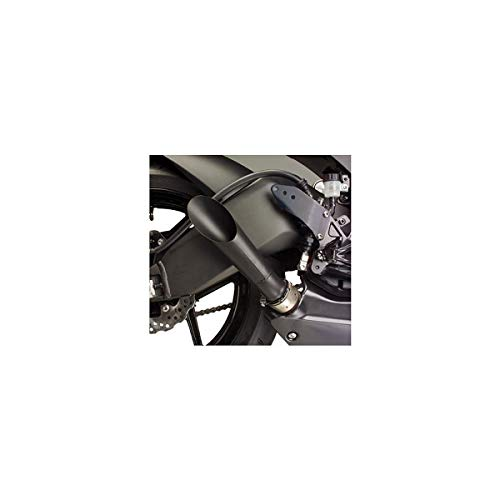 - 13-19 KAWASAKI ZX636: Hotbodies Racing Megaphone Slip-On Exhaust (BLACK)