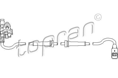 ABS Wheel Speed Sensor Rear Left// Right Fits Citroen C4 Peugeot 307 4545.C4