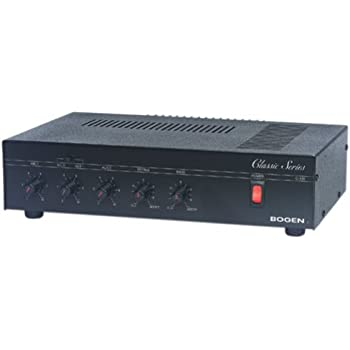 amazon com bogen 35 watt amplifier bg tpu35b electronics rh amazon com Bogen TPU100B Manual Bogen Model TPU100B