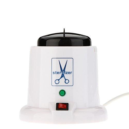 NEW Nail Art Steam Autoclave Scissor Manicure Sterilizer Machine with 150g Disinfection Glass Bead Nail Tools 220V EU Plug